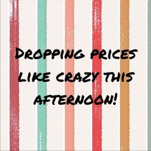 CLOSET CLEAR OUT = DROPPING ALL PRICES